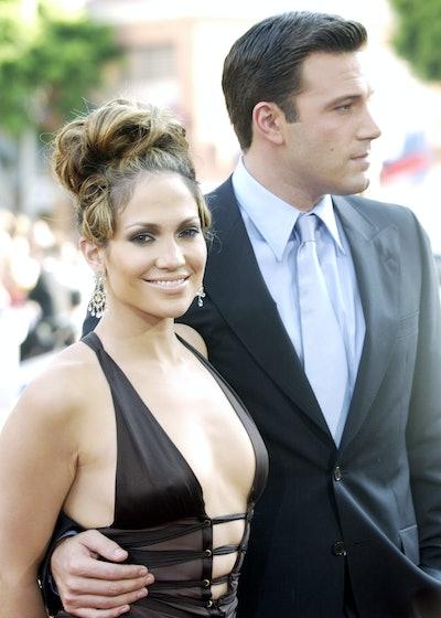 "Jennifer Lopez & Ben Affleck during ""Gigli"" California Premiere at Mann National in Westwood, Califo..."