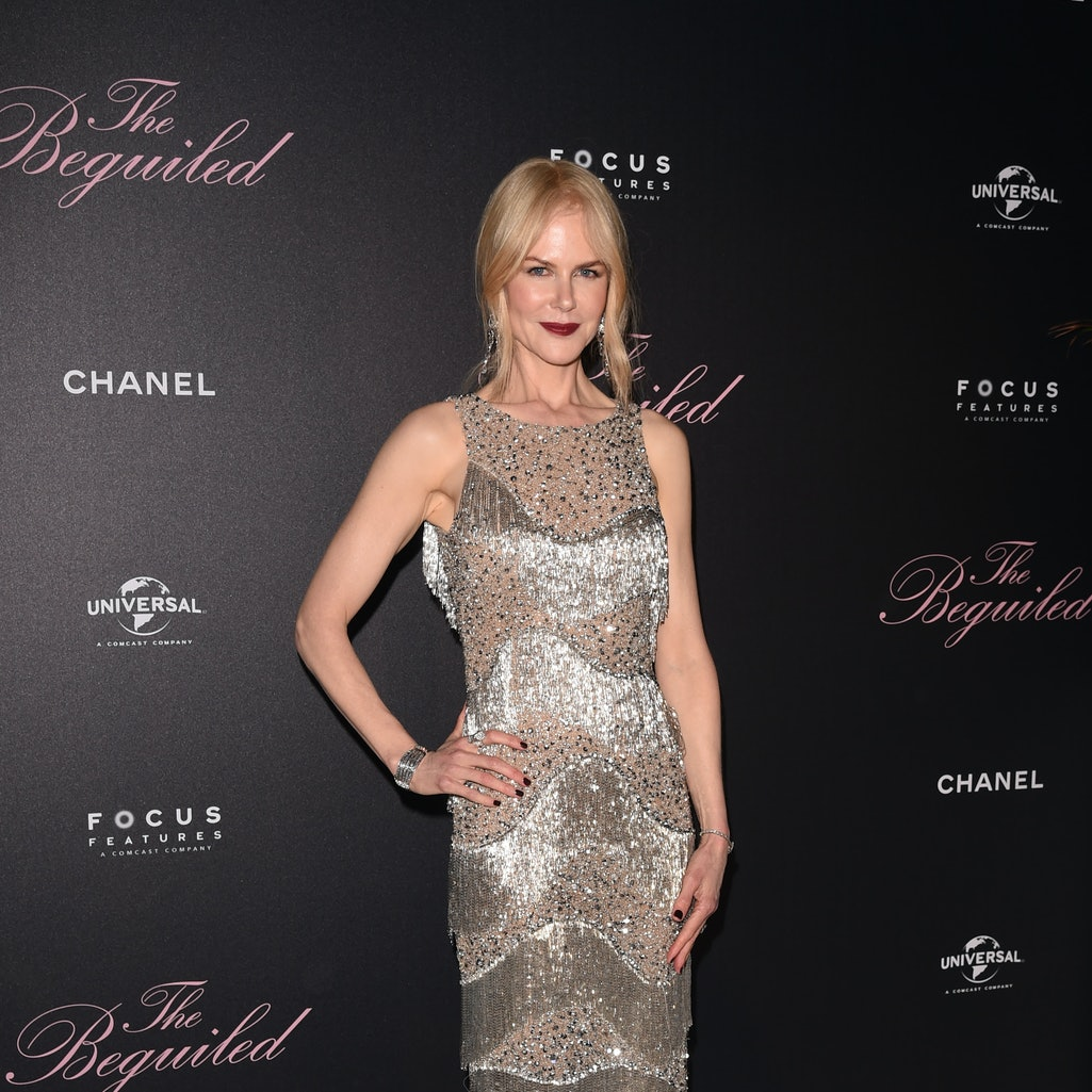 From a singing red-headed courtesan in corsets to a brunette housewife, Nicole Kidman is a chameleon...