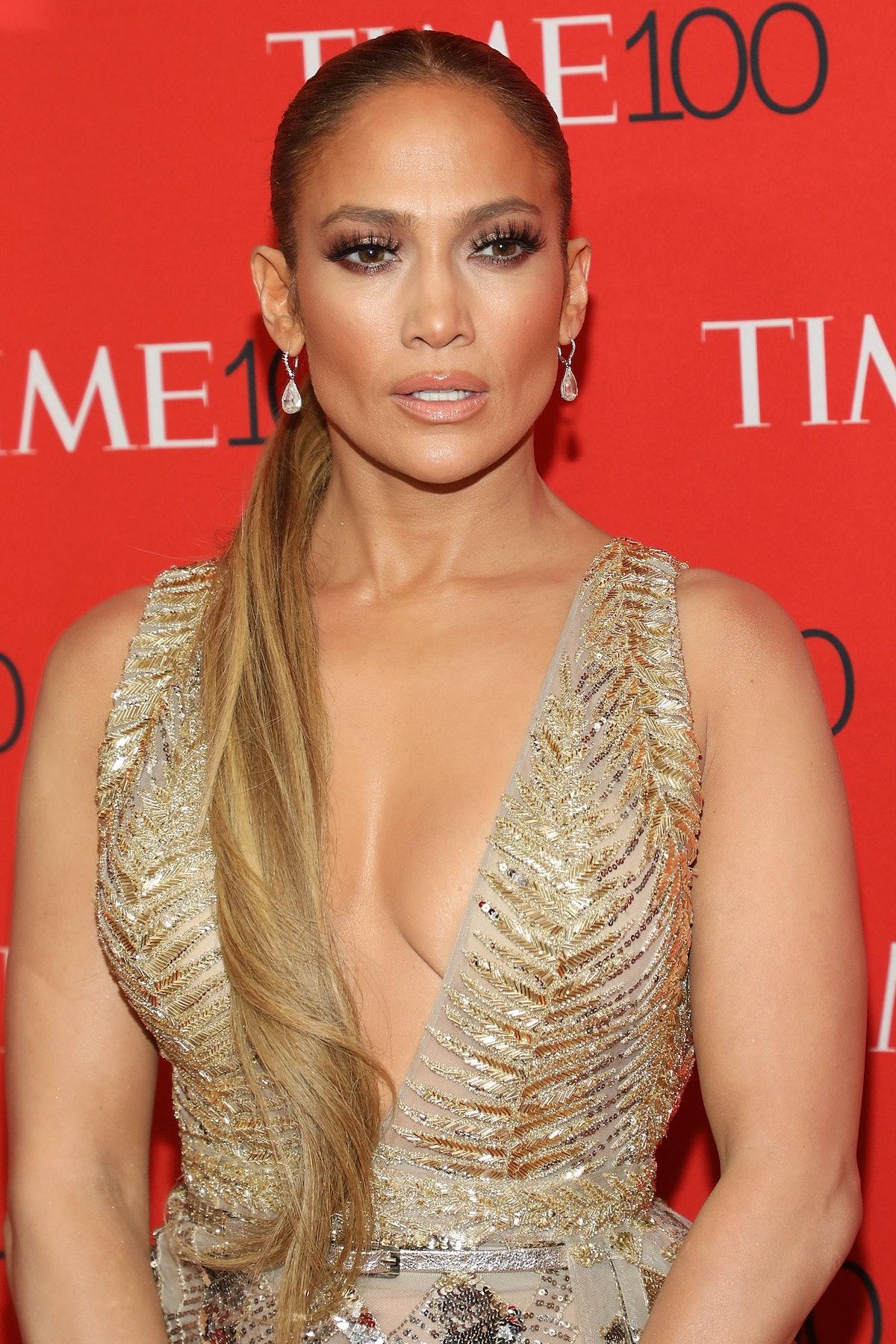 NEW YORK, NY - APRIL 24:  Jennifer Lopez attends the 2018 Time 100 Gala at Frederick P. Rose Hall, J...