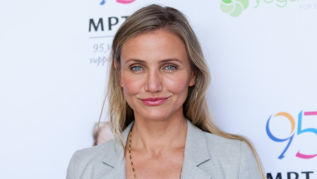 WOODLAND HILLS, CA - JUNE 10:  Cameron Diaz attends the MPTF Celebration for health and fitness at T...
