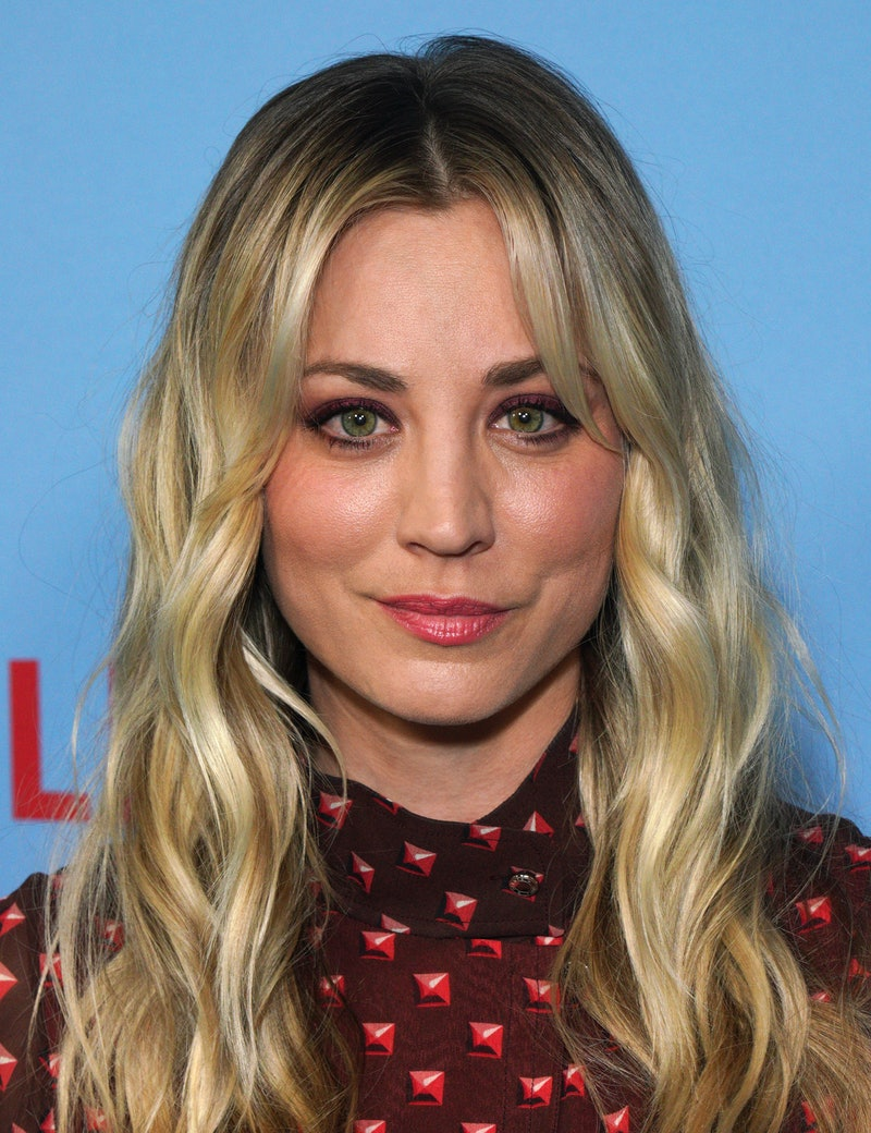 HOLLYWOOD, CALIFORNIA - SEPTEMBER 16:  Kaley Cuoco attends the LA premiere of Netflix's 'Between Two...