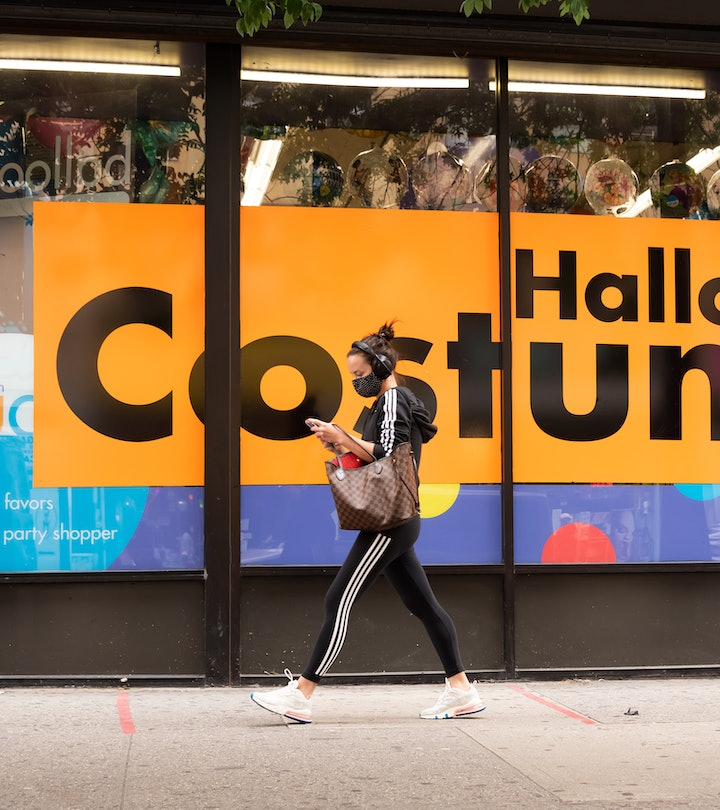 Party City Halloween items should be out in stores soon.