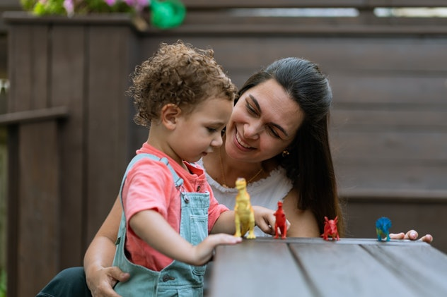 Talk to your 2-year-old about sounds, food, animals, and more for conversation starters.