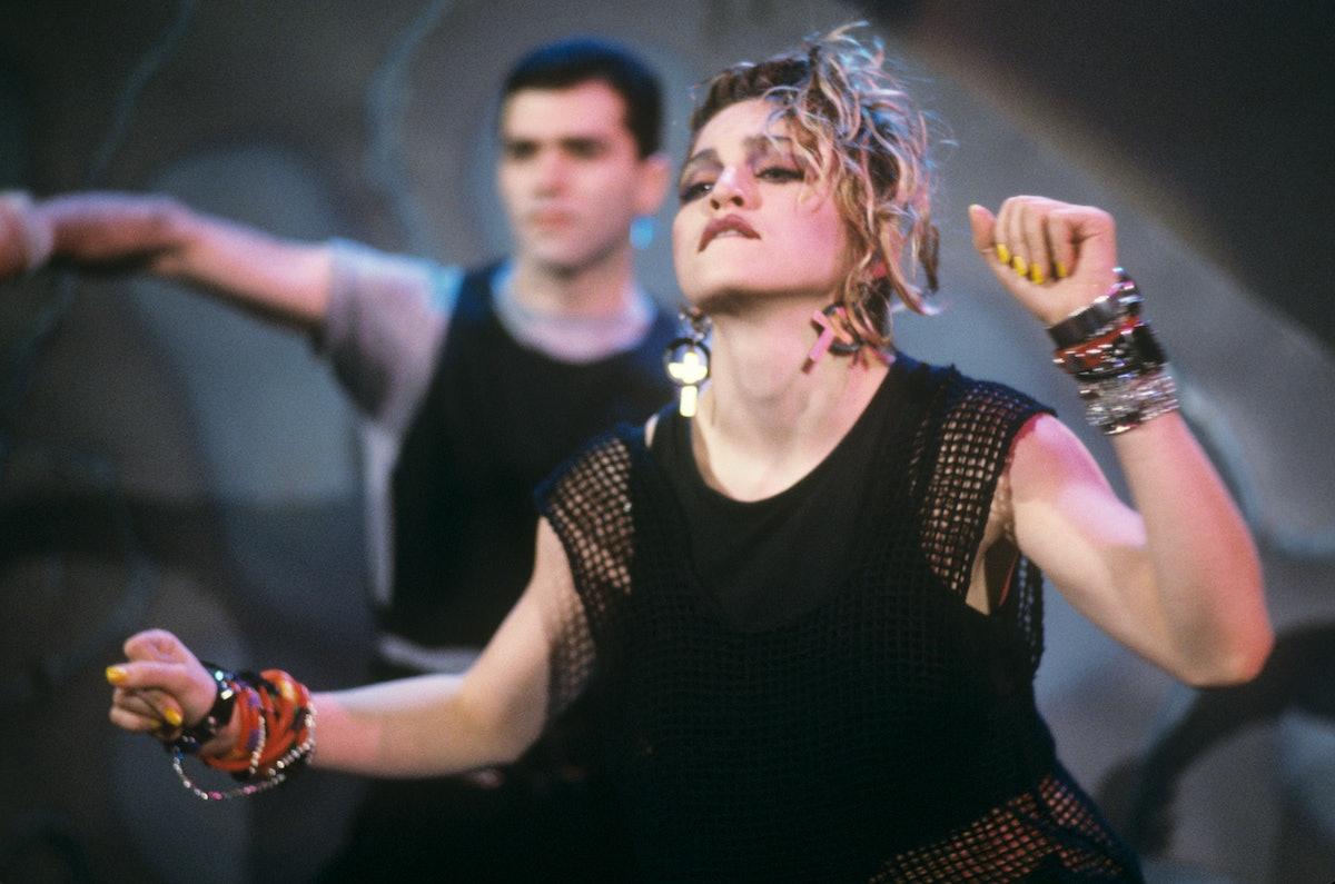 Madonna in March 1984 in Munich.