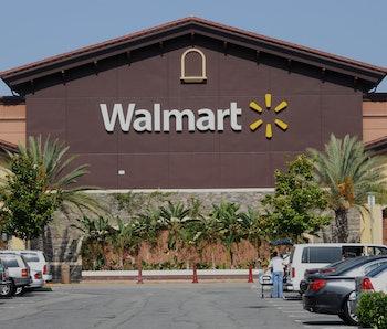 ROSEMEAD, CALIFORNIA - JUNE 01: Walmart store exterior view taken June 1, 2012 in Rosemead, Californ...