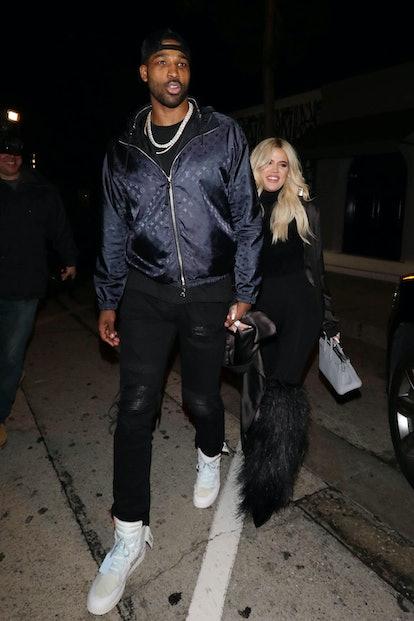 Khloe Kardashian and Tristan Thompson in 2019.