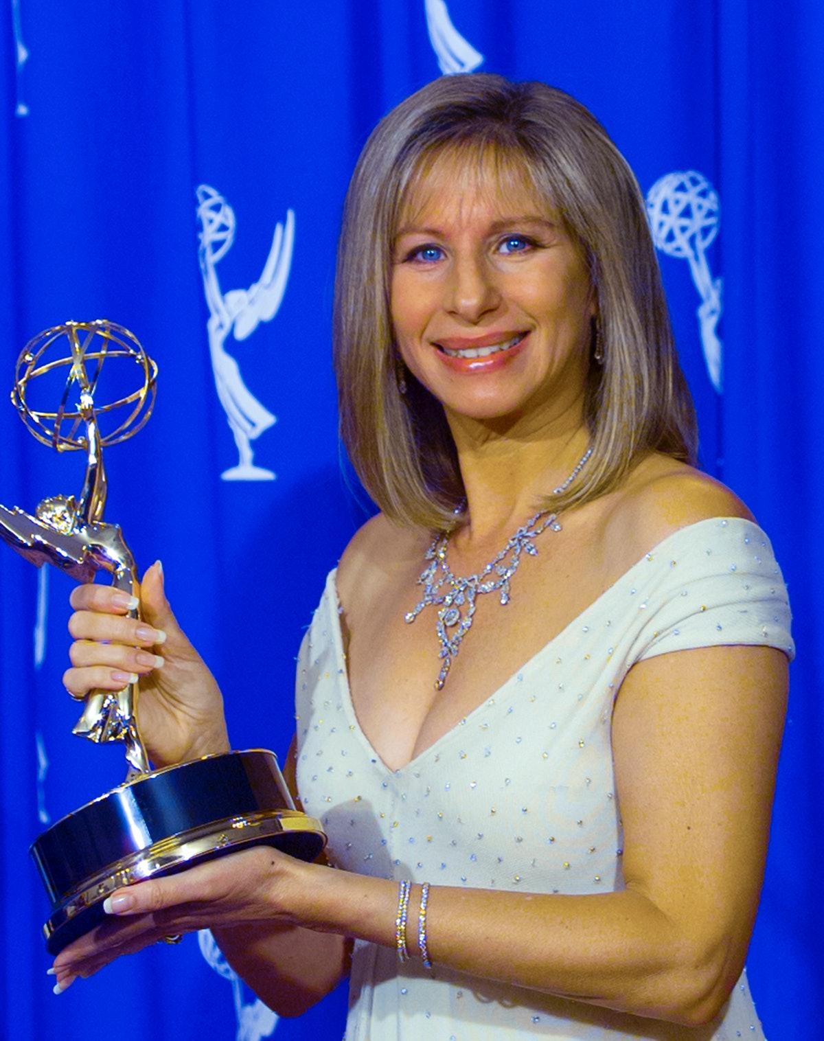 PASADENA, CA - SEPTEMBER 10: Barbra Streisand at the 47th Primetime Emmy Awards Show on September 10...