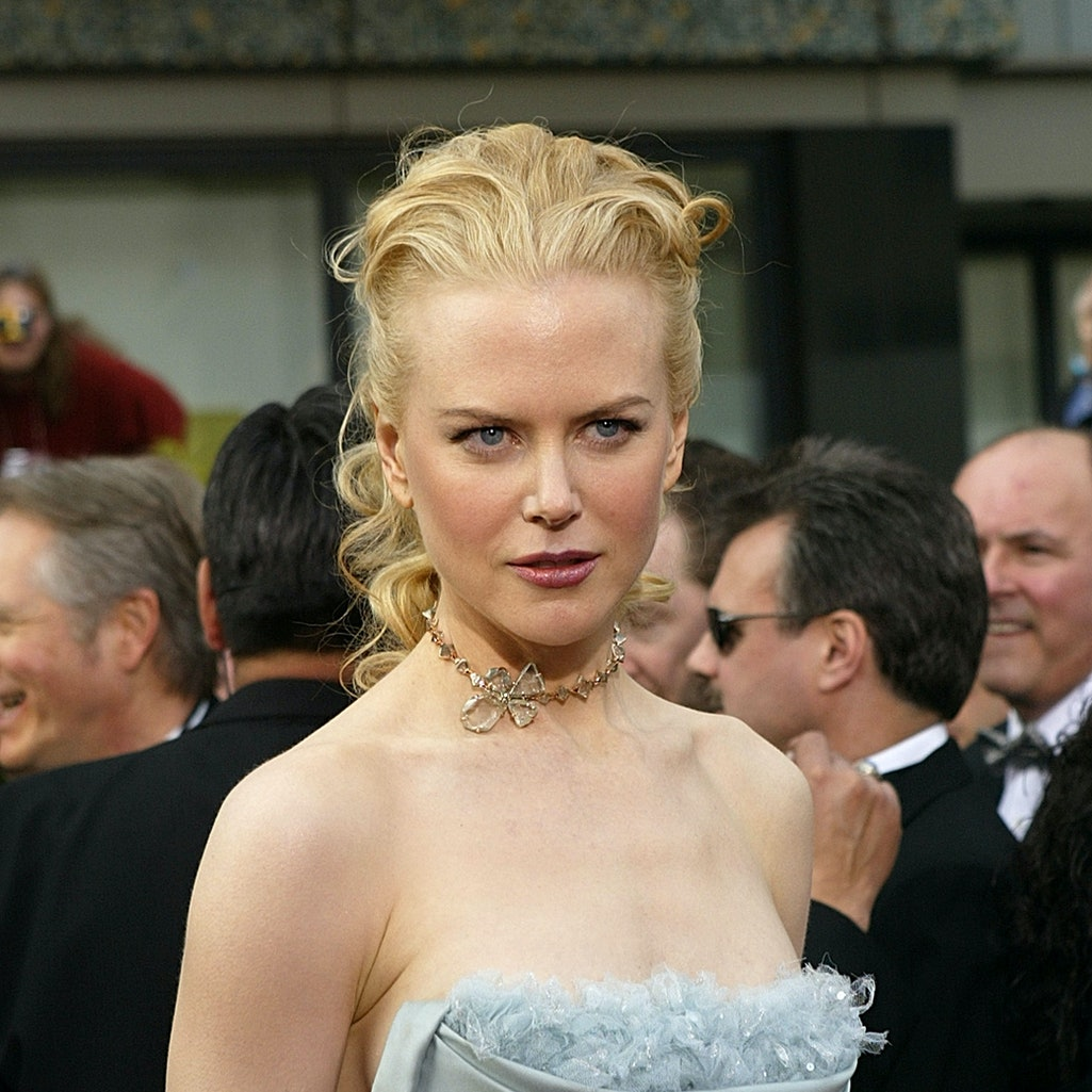Nicole Kidman, a natural blonde, has transformed for her many roles donning wigs and prosthetics, ev...