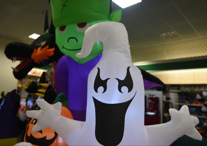 Party City Halloween items will be out by the end of August.