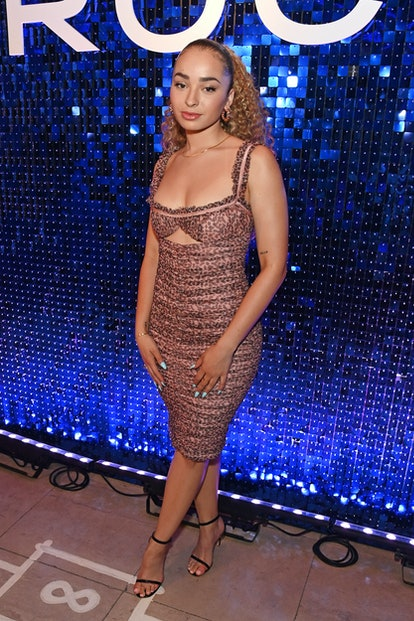 LONDON, ENGLAND - AUGUST 10:  Ella Eyre attends the CIROC Vodka disco themed party at Sketch London ...