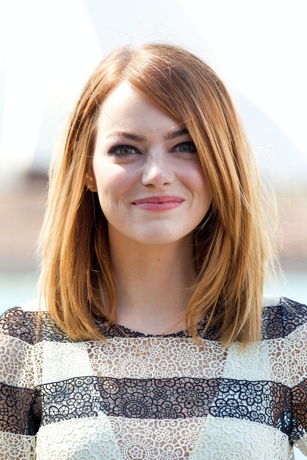 """Emma Stone at """"The Amazing Spider-Man 2: Rise Of Electro"""" photocall on March 20, 2014 in Sydney, Aus..."""