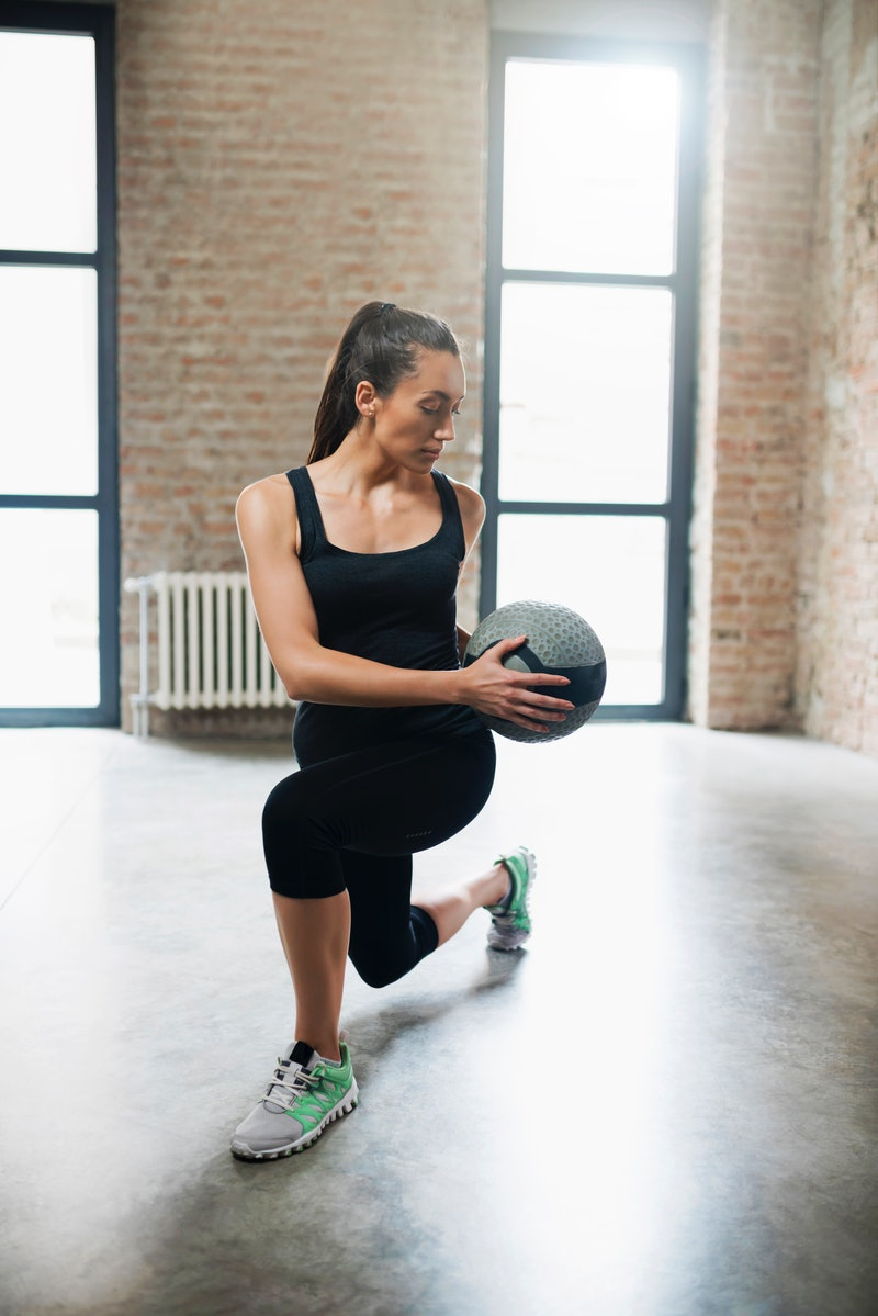Trainers share their go-to medicine ball workouts for your strength training routine.