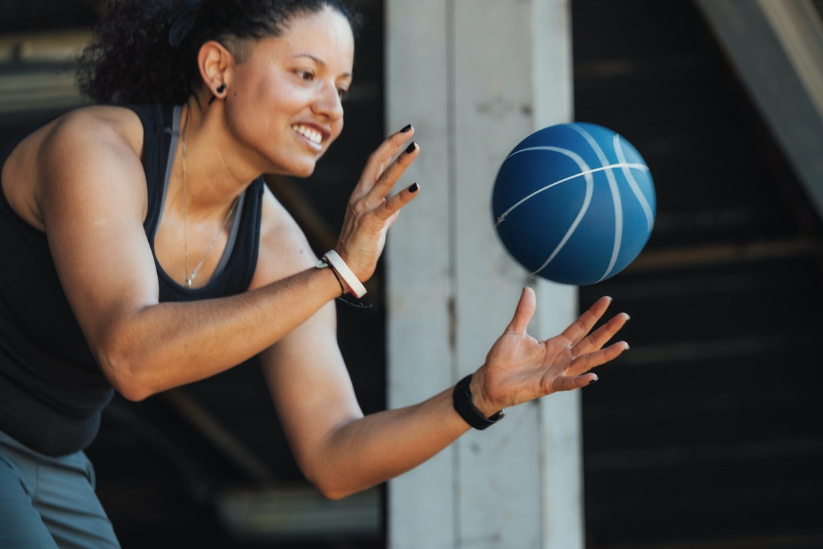 Medicine balls can add cardio and variety to your workout routine.