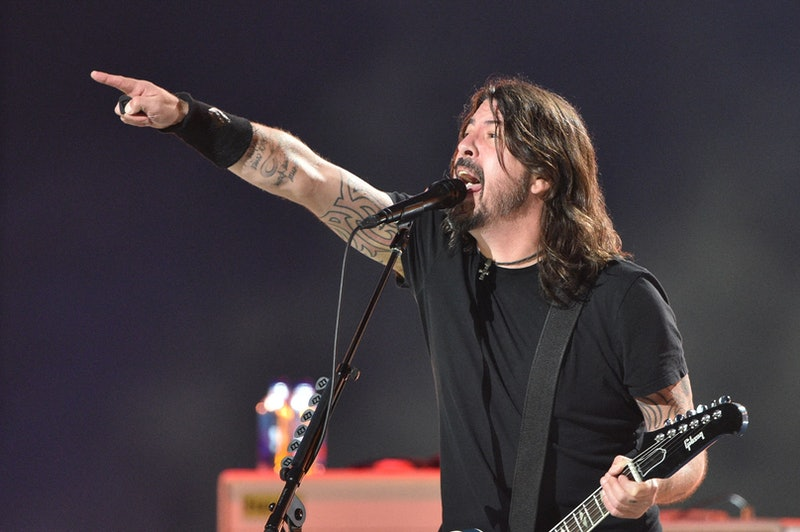 """Dave Grohl of the Foo Fighters performs onstage during the taping of the """"Vax Live"""" fundraising conc..."""