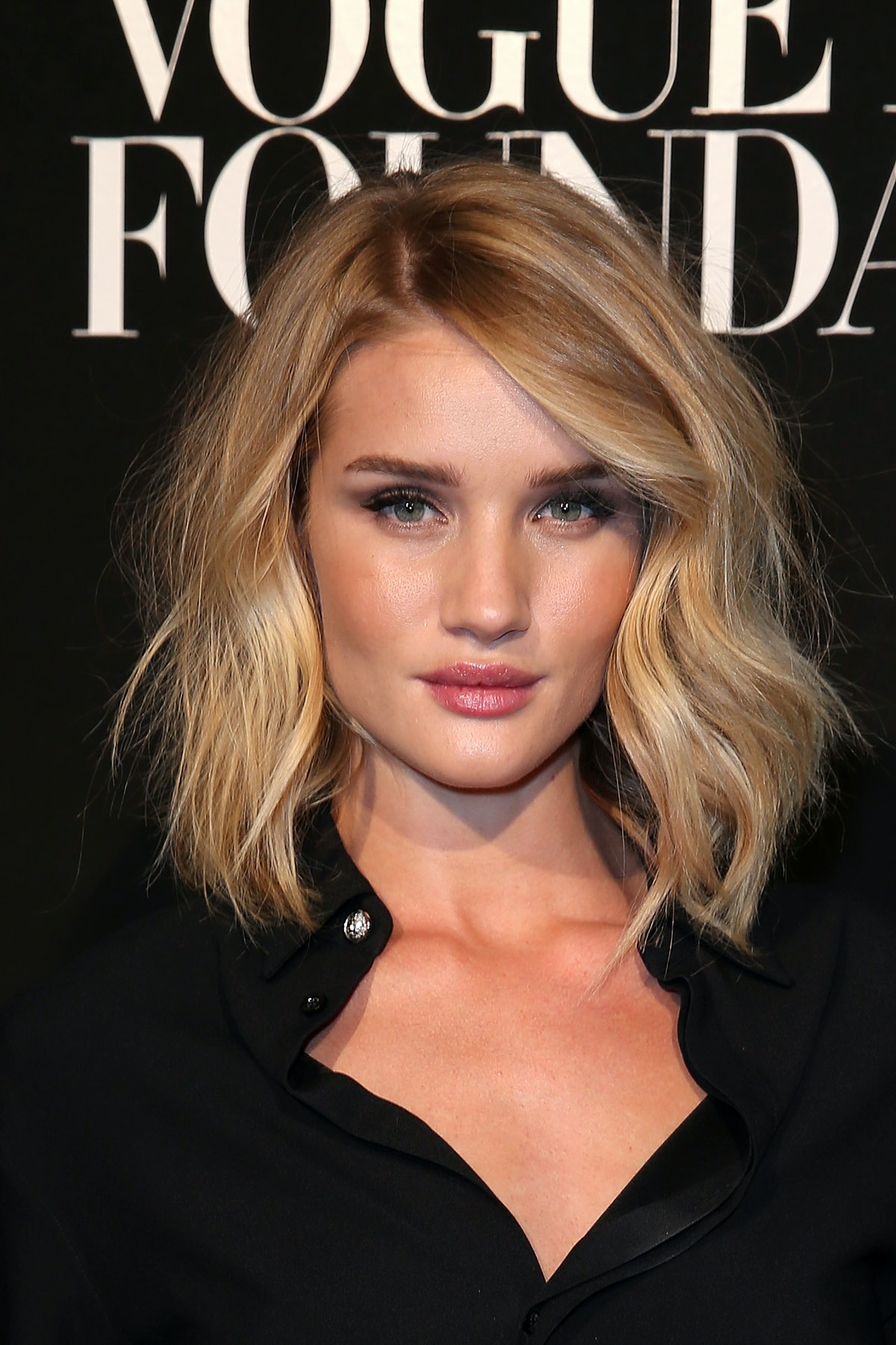 Rosie Huntington-Whiteley  attends the Vogue Paris Foundation Gala at Palais Galliera on July 6, 201...