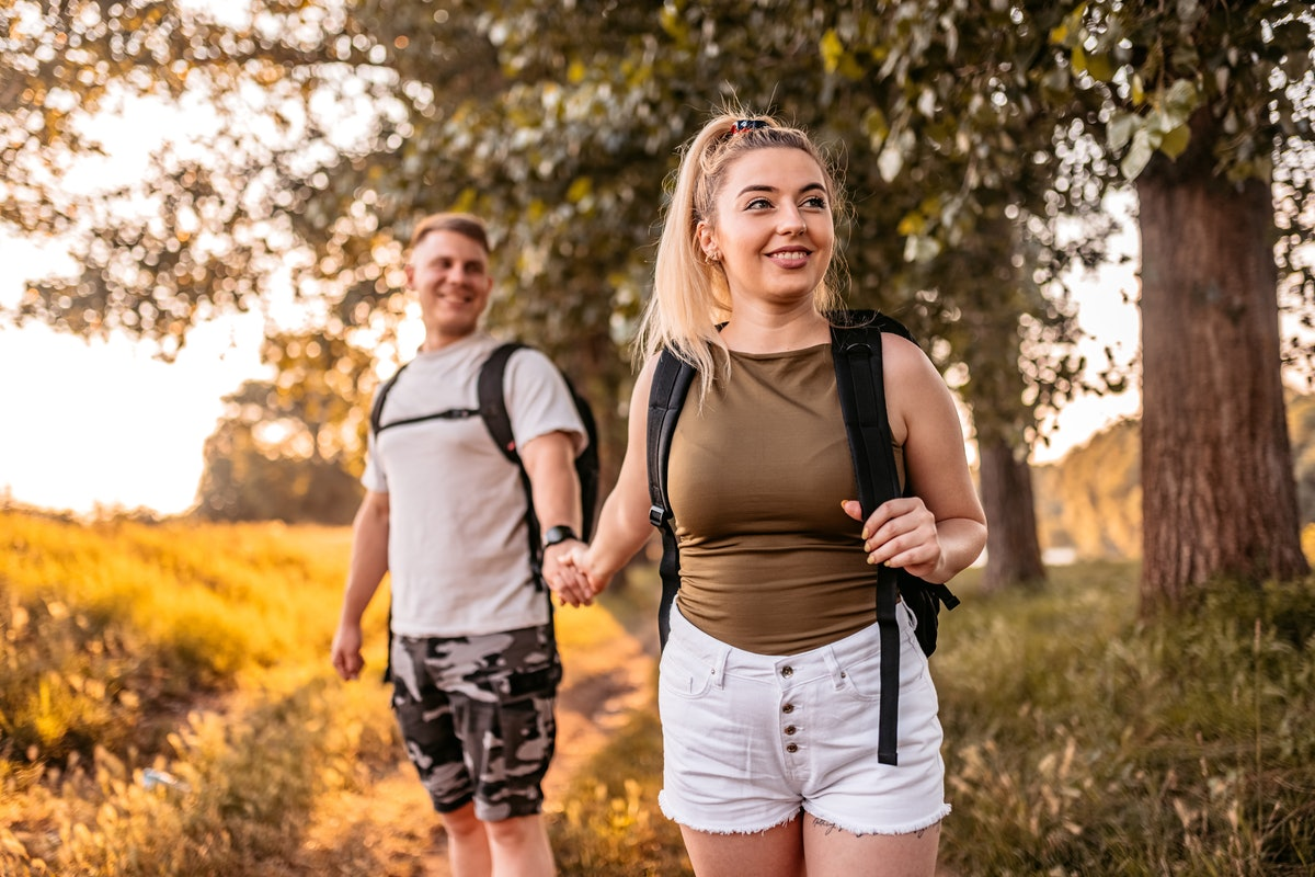 A young woman plans a hike for her earth sign boyfriend.