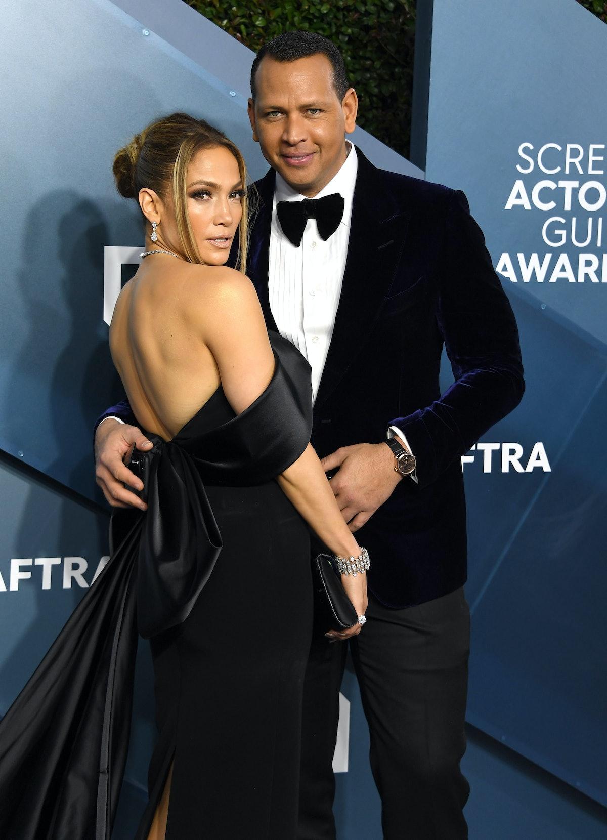 Alex Rodriguez wished Jennifer Lopez well in a post-breakup interview.