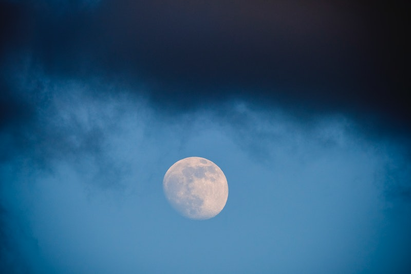 The August 2021 full blue moon takes place in the rebellious zodiac sign of Aquarius.