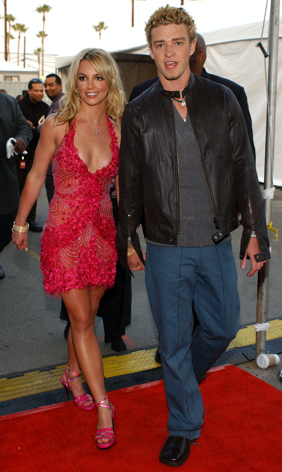 Justin Timberlake shaded Britney Spears several times after their public breakup, airing their sex l...