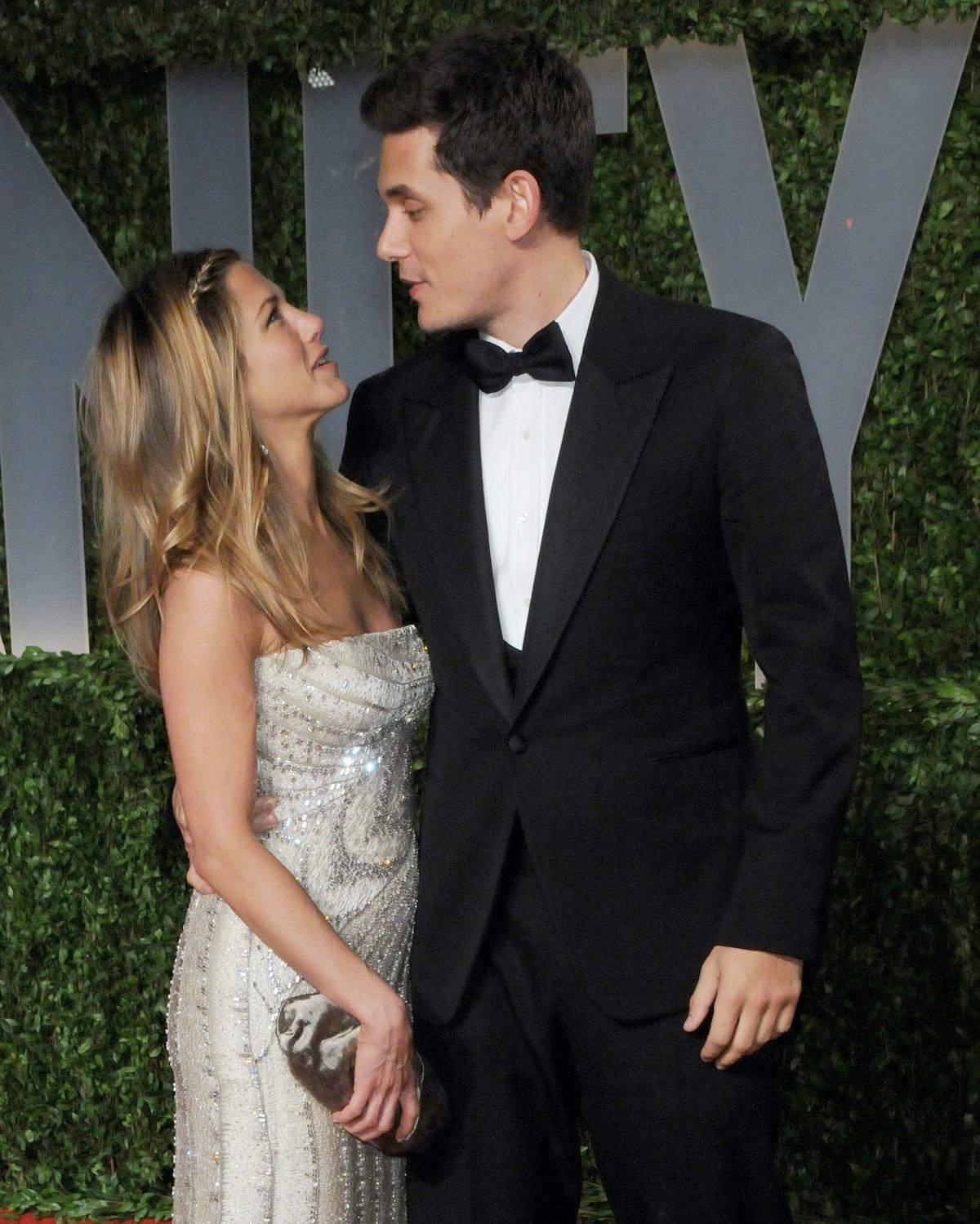 Jennifer Aniston and John Mayer dated.