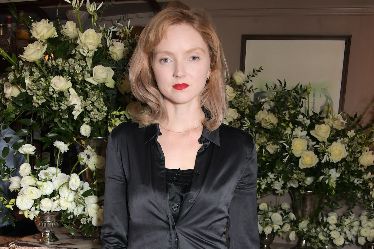 LONDON, ENGLAND - DECEMBER 09:   Lily Cole attends an intimate dinner hosted by Edward Enninful and ...