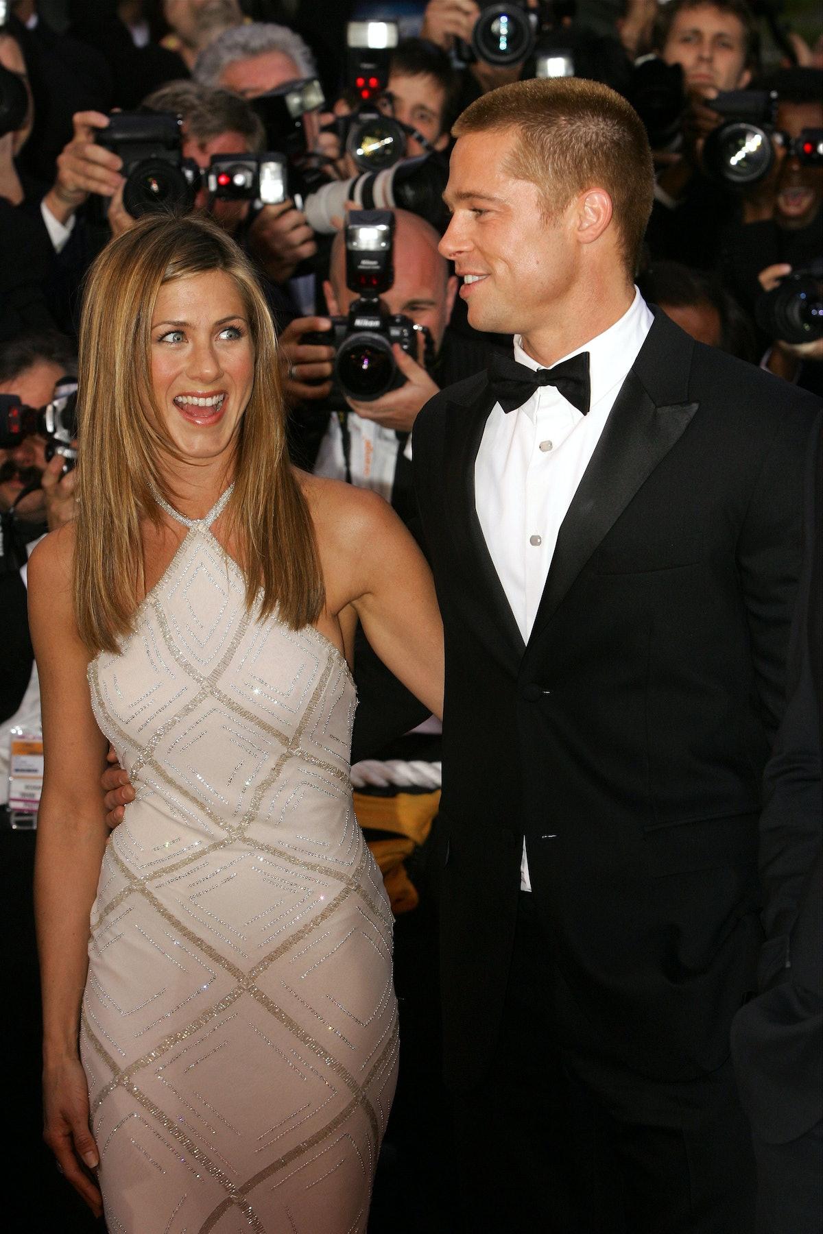 Brad Pitt and Jennifer Aniston were married.
