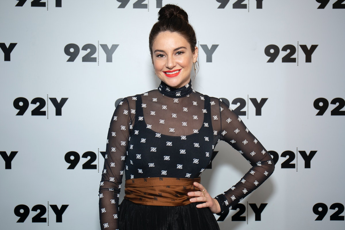 Shailene Woodley is open to polyamory.