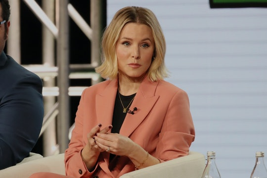 """PASADENA, CALIFORNIA - JANUARY 19: Kristen Bell of """"Central Park"""" speaks onstage during the Apple TV..."""