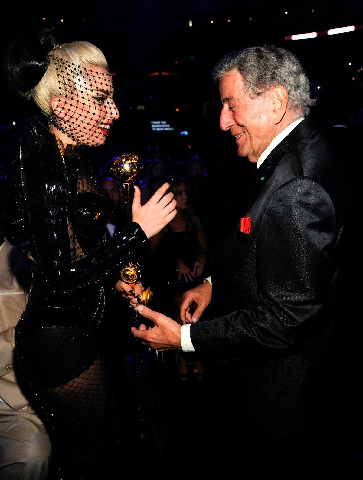 Lady Gaga and Tony Bennett in 2012.