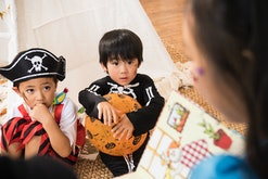 Read these Halloween children's books throughout the month of October.