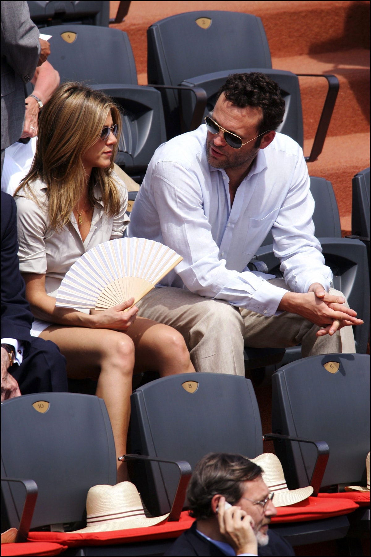 Jennifer Aniston and Vince Vaughn dated.