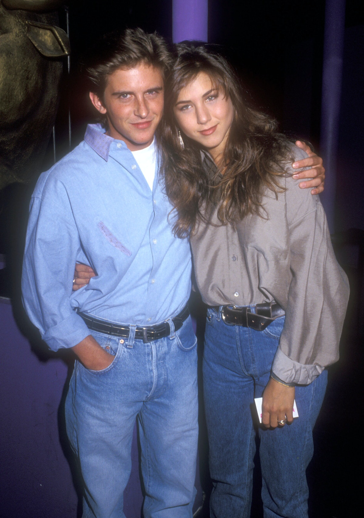 Charlie Schlatter and Jennifer Aniston dated.