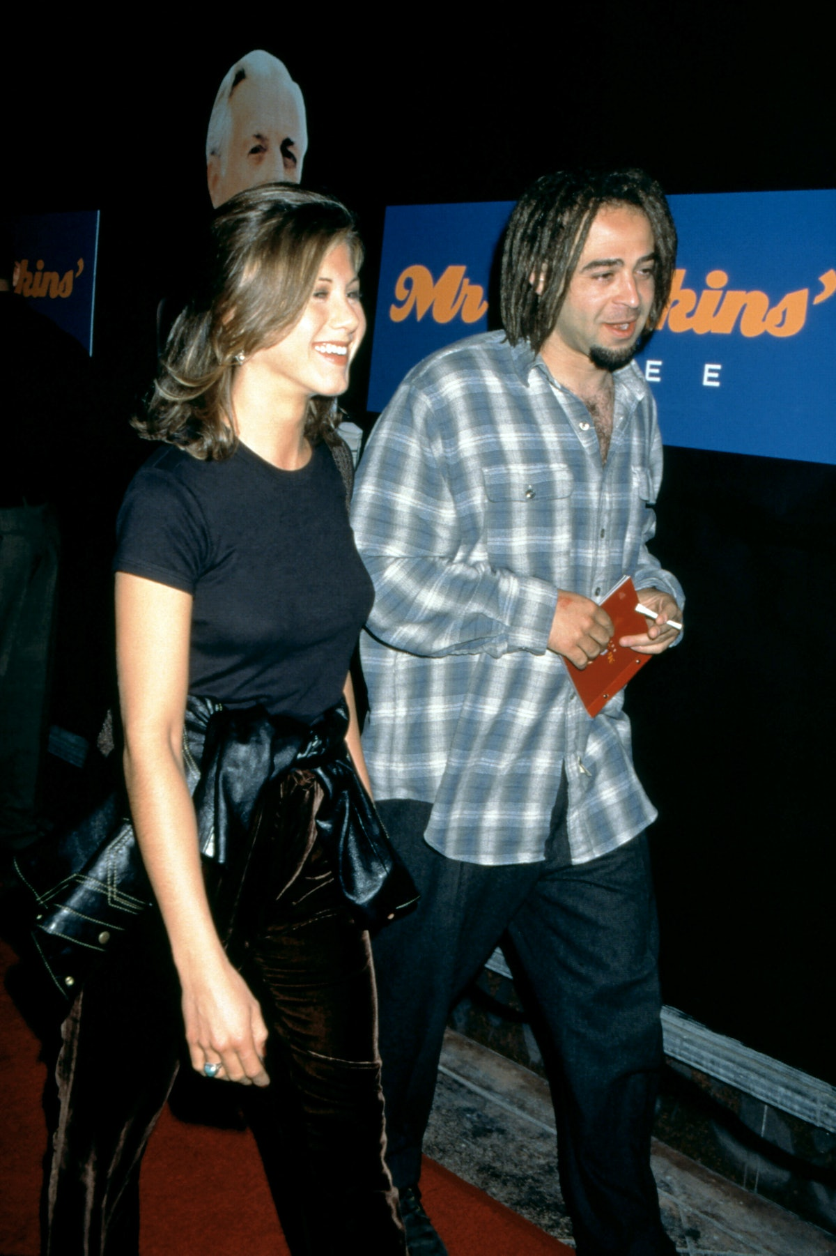 Jennifer Aniston and Adam Duritz dated.