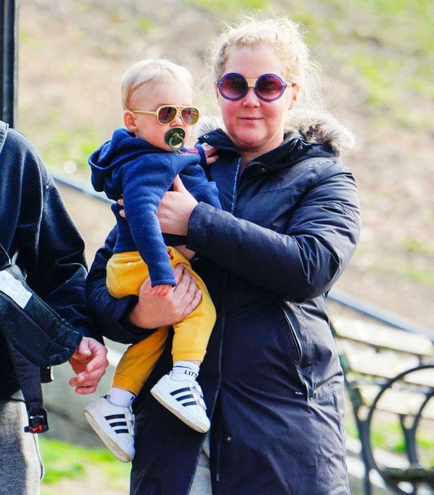 Amy Schumer has one son named Gene.