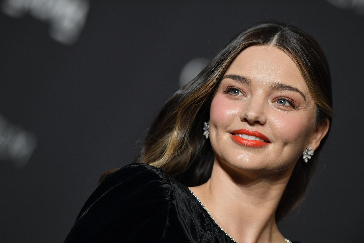 LOS ANGELES, CA - NOVEMBER 03:  Miranda Kerr attends the 2018 LACMA Art + Film Gala at LACMA on Nove...