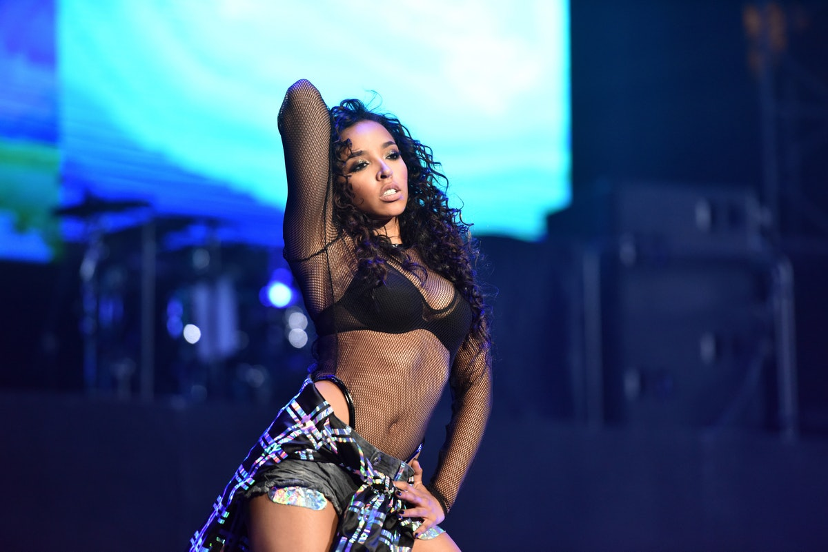 Tinashe singing songs about sex.