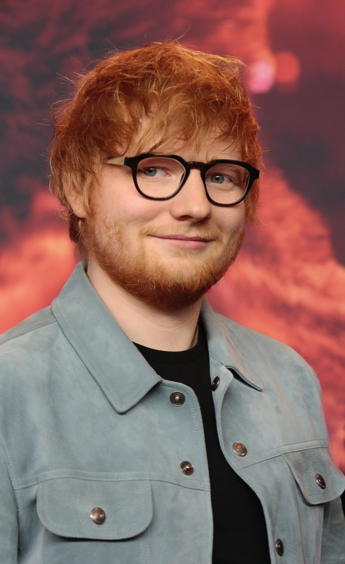 BERLIN, GERMANY - FEBRUARY 23: Singer Ed Sheeran poses at the 'Songwriter' press conference during t...