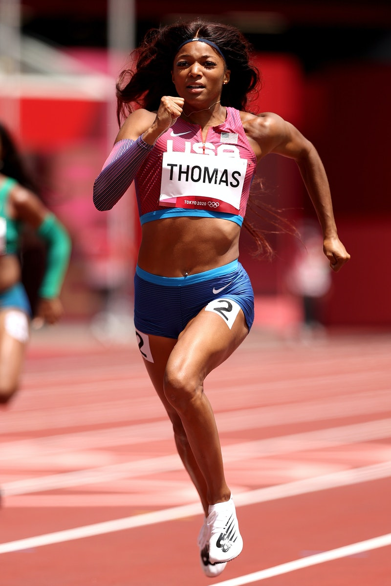 Who is Gabrielle Thomas of Team United States? The sprinter competing for gold in the Tokyo Olympics...