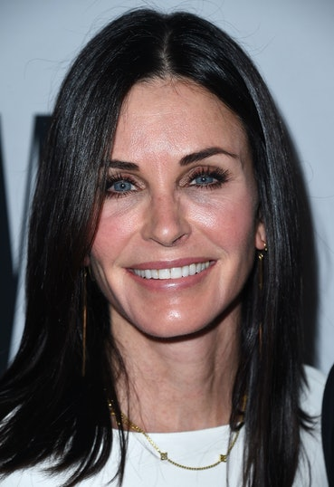 BEVERLY HILLS, CA - MAY 10:  Courtney Cox arrives at the 64th Annual BMI Pop Awards at the Beverly W...