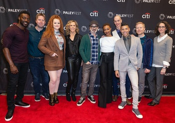 NEW YORK, UNITED STATES - 2019/10/05: Cast and crew attend PaleyFest Star Trek: Discovery at Paley C...