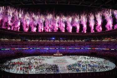 The 2021 Olympics Opening Ceremony for the Tokyo 2021 Olympic Games Olympic Stadium on Friday, July ...