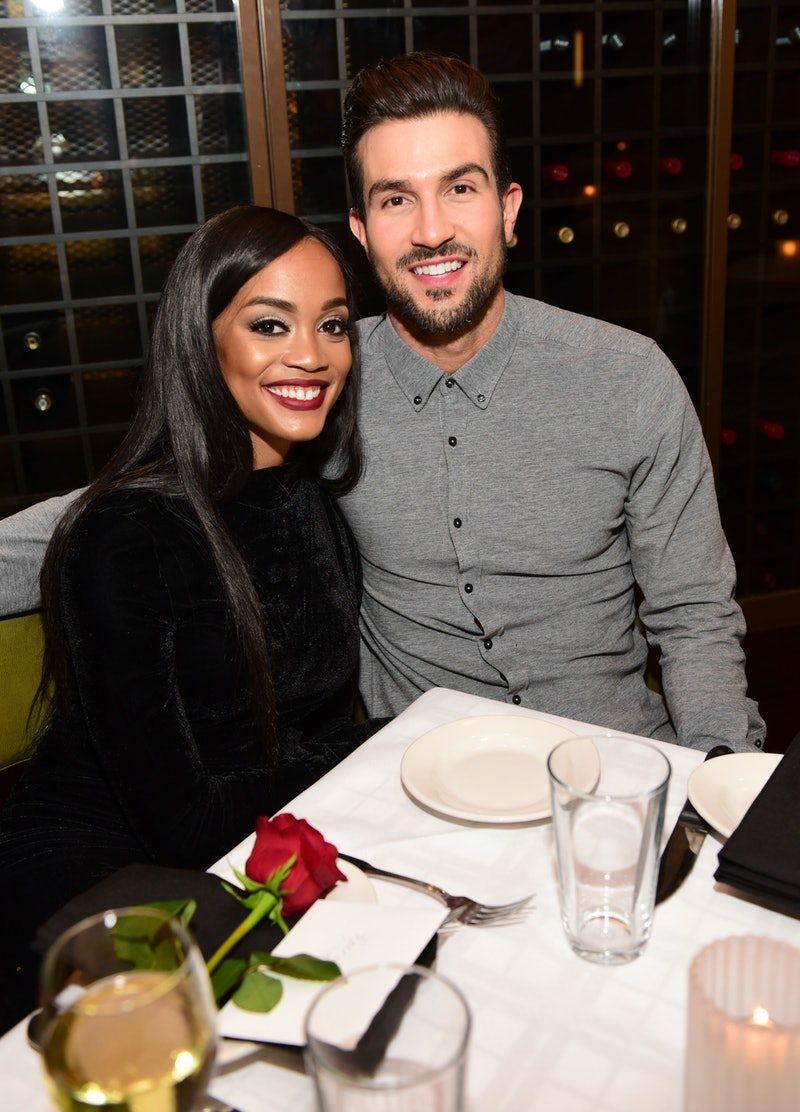 Former Bachelorette Rachel Lindsay and her husband Bryan Abasolo, one of the few couples from the fr...