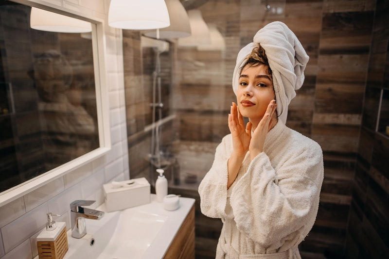 Lately, I've been trying to mitigate the damage of the excavations I've performed on my face — and t...