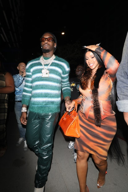 Cardi B and Offset's Mars and Jupiter signs differ completely.