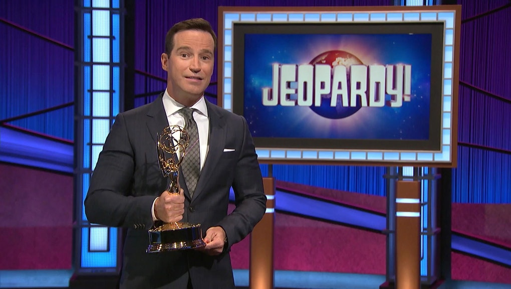 UNSPECIFIED - JUNE 25: In this screenshot released on June 25, Mike Richards accepts the award for O...