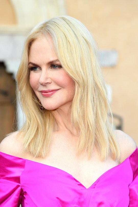 TAORMINA, ITALY - JULY 01: Nicole Kidman attends the 65th Taormina Film Fest Red Carpet on July 01, ...