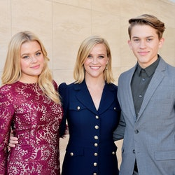 Reese Witherspoon with two of her kids —Ava Elizabeth Phillippe and Deacon Reese Phillippe — in 201...