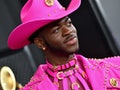 LOS ANGELES, CALIFORNIA - JANUARY 26: Lil Nas X attends the 62nd Annual GRAMMY Awards at Staples Cen...