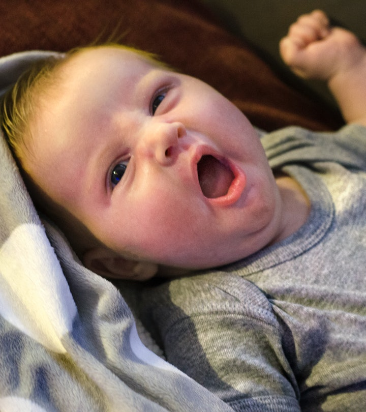 Newborn baby Girl in Blanket
