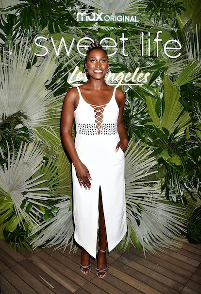 HOLLYWOOD, CALIFORNIA - AUGUST 18: Isaa Rae attends the Sweet Life: Los Angeles screening at NeueHou...